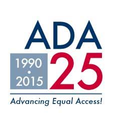 ADA 25th Anniversary Logo